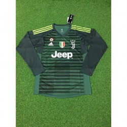 Juventus green goalkeeper long sleeve soccer jersey shirt 20 size:18-201