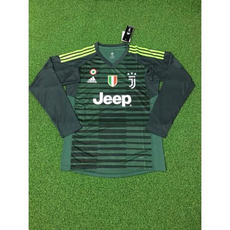 Juventus Third Kit Green Juventus Green Jersey 2017 Juventus Green Goalkeeper Long Sleeve Soccer Jersey Shirt 20 Size 18 2019
