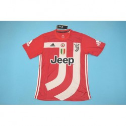 Juventus red collective edition jersey 20 size:18-201