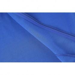 Low Colar Jacket Training Suit Inter Blue Size:17-1