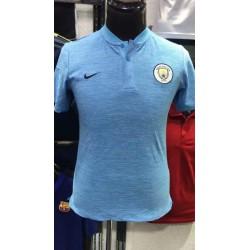 Man city blue polo 20 size:18-201