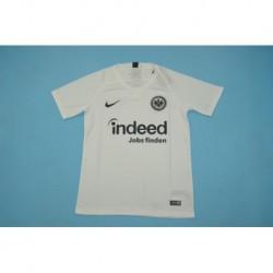 Size:18-19 frankfurt white soccer jerse