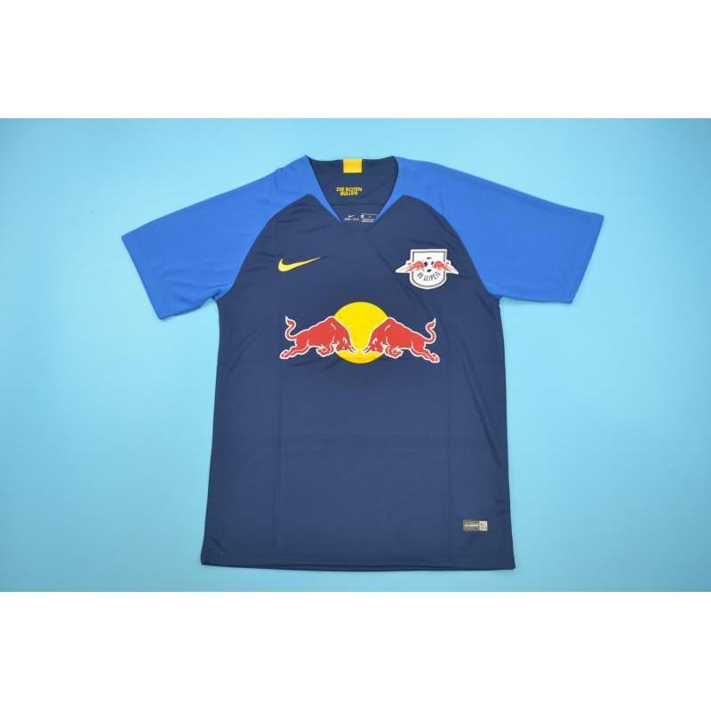 Rb Leipzig Fan Shirt Rb Leipzig Shirt Uk Rb Leipzig Away Blue Size 18 19
