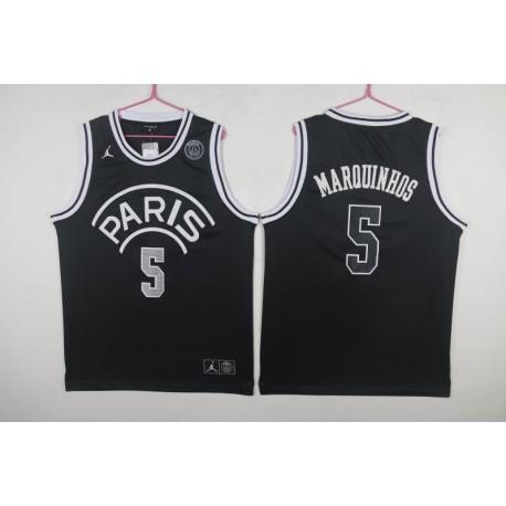 P-aris aj marquinhos basketball jersey