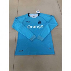 Marseille 3rd blue long sleeve jerseys size:18-1