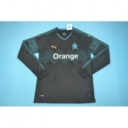 Marseille away black long sleeves size:18-1