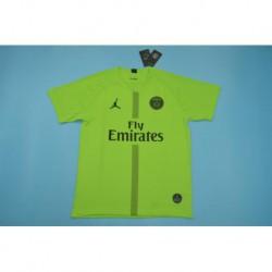 P-aris jordan ucl green goalkeeper soccer jersey shirt 20 size:18-201