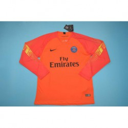 Pa-ris orange long sleeves goalkeeper shirt size:18-1