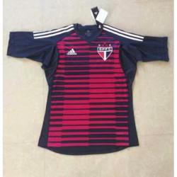 Sao paulo red goalkeeper jerseys size:18-1