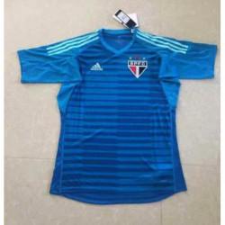 Sao paulo blue goalkeeper jerseys size:18-1
