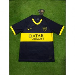 Boca home soccer jersey size:19-2