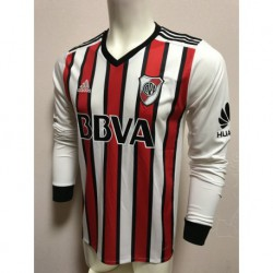 River plate third long sleeves soccer jersey size:18-1