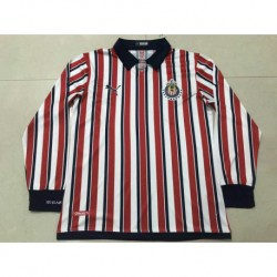 size 40 d38dc 865fc Chivas home long sleeve jersey size:18-19...