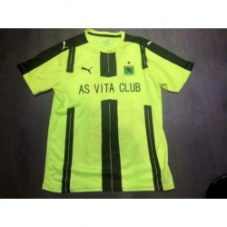 Size:18-19 As Vita Club Green Soccer Jerse