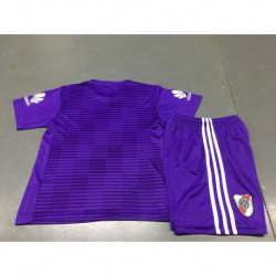 Size:18-19 river plate away purple kids jerse