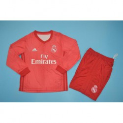 Real-Madrid-3rd-Kit-Red-Real-Madrid-Original-Red-Jersey-real-madrid-3rd-red-long-sleeve-kid-kits-Size18-19