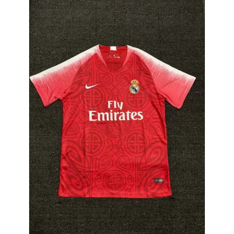 official photos 56c1a 22fdd Real Madrid Red Shirt,Real Madrid Shirt Red,20 Size:18-2019 real-madrid Red  Limited Edition Soccer Jersey
