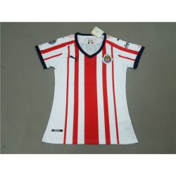 Chivas home red and white women size:18-1