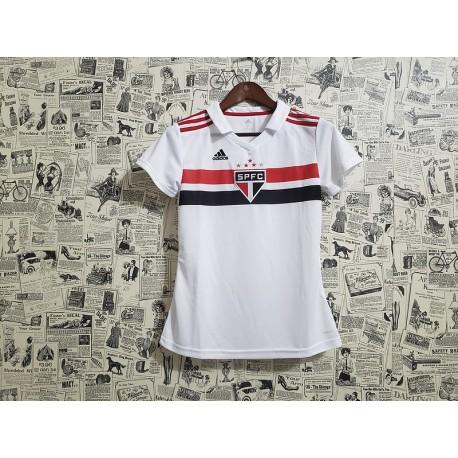Sao paulo home women jerseys size:18-1