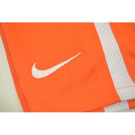 Size:17-18 Inter Goalkeeper Orange Short