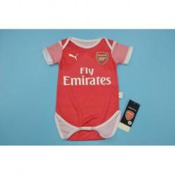 Arsenal home baby shirt