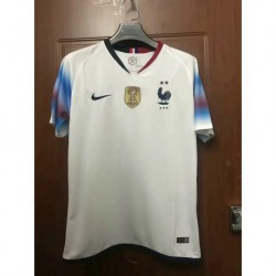France New Away White Jersey Picture Versio