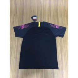 Size:18-19 france 2 star black goalkeeper soccer jersey