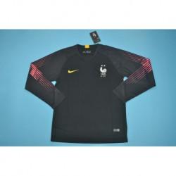 France black gk long sleeve size:18-1