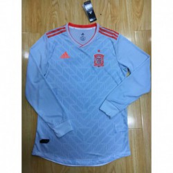 Spain Away Long Sleeves Player Version 201