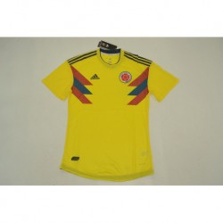 Colombia Home Player Version Jerseys 201