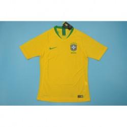 Brasil 2018 Home Player Version Jersey