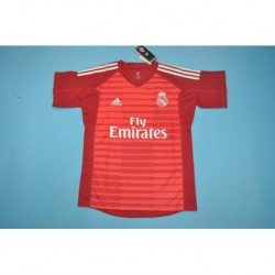Real-Madrid-Red-Uniform-Real-Madrid-Red-Stripe-real-madrid-red-GK-jerseys-Size18-19