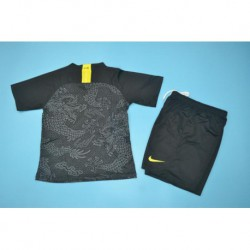 Youth china 3rd black kits size:18-1