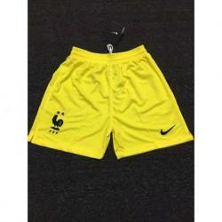 France yellow gk shorts size:18-1