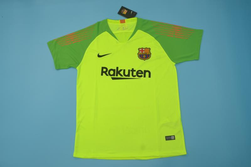 Light Green Striped Rugby Shirt