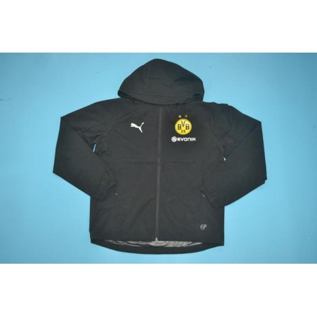 Borussia Dortmund Jersey Online Dortmund Jersey 15 16 Dortmund Black Windbreaker Jacket Size 18 19