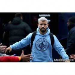Man city blue hood
