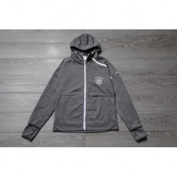 Bayern gray zne hooded jacket normal qualit