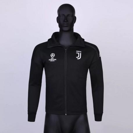 Juventus Hooded Winter Jacket,Adidas Juventus Anthem Jacket,Size:18 19 hooded jacket juventus UCL zne black normal quality vers