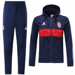 Bayern munich blue full zip hoodie jacket sui