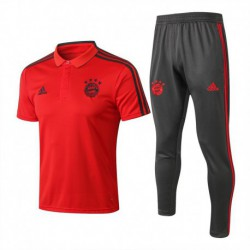 Bayern orange polo training set 201