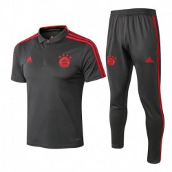 Bayern gray polo training set 201