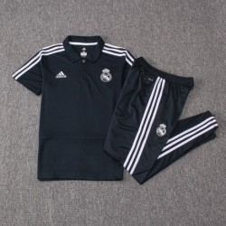Madrid black polo training set 201