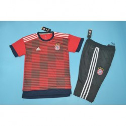Bayern red stripe ss training suit 201