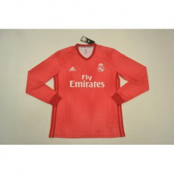 Real-Madrid-New-Jersey-Red-Real-Madrid-Ronaldo-Red-Jersey-real-madrid-second-away-red-long-sleeve-Size18-19
