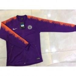 Man city purple jacket size:18-1