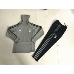 Juventus khaki kid ucl high collar training suit 20 size:18-201