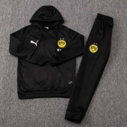 Youth dortmund black hoodie suit 20 size:18-201