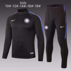 Inter Milan Black Kid Training Sui