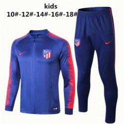 A-m blue kid jacket tracksuit size:18-19 eo